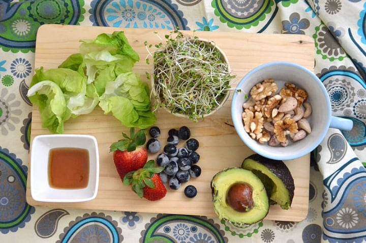 healthy microgreens