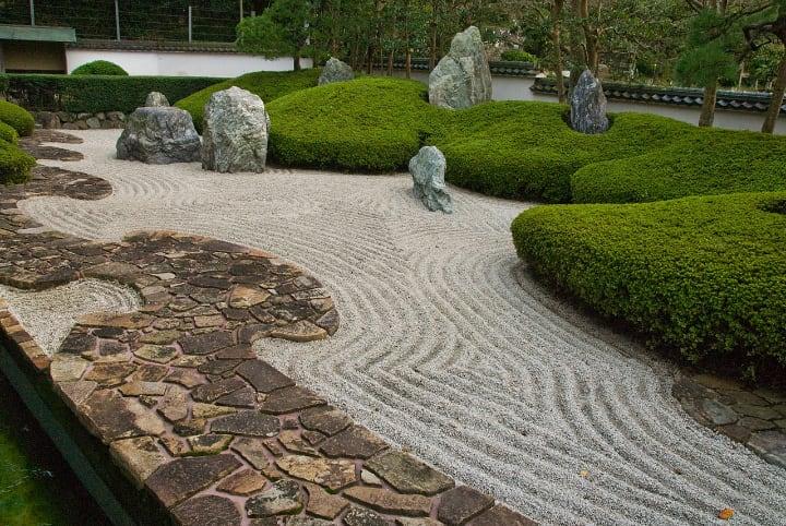 komyoji japanese zen garden