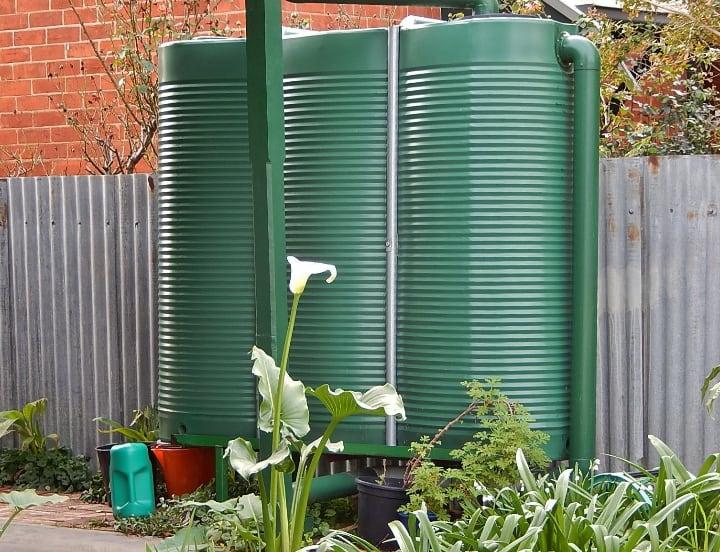 rain water harvesting wet system
