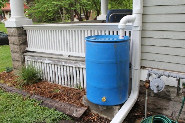 rainwater first flush system