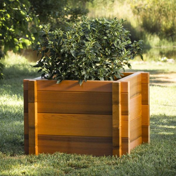 castello planter box cedar