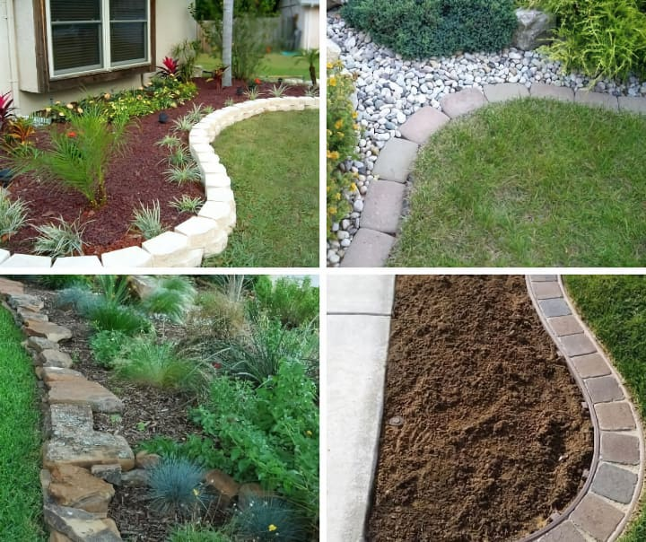 garden edging ideas personality