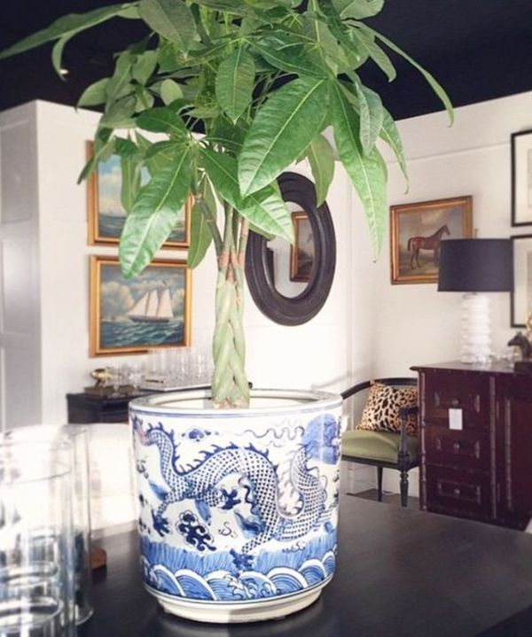 oriental plant stand