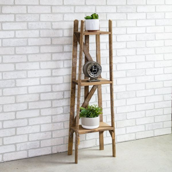 plant stand with shelves