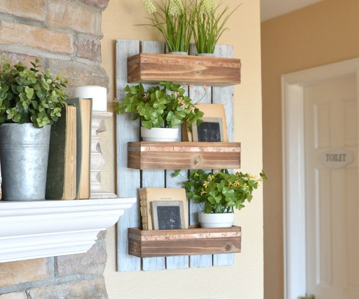 plant wall mount