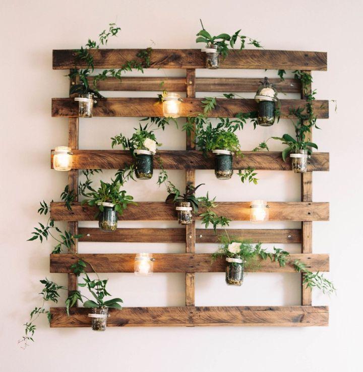 plant wall rack
