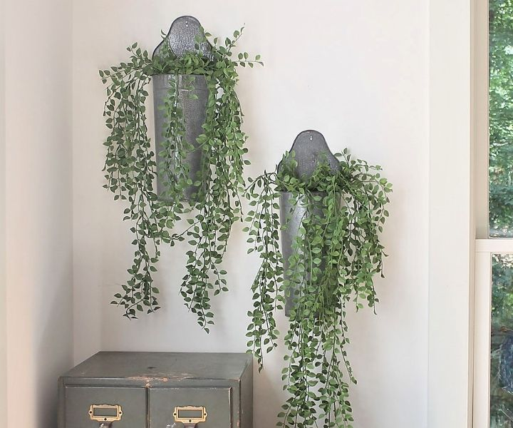 plant wall sconces