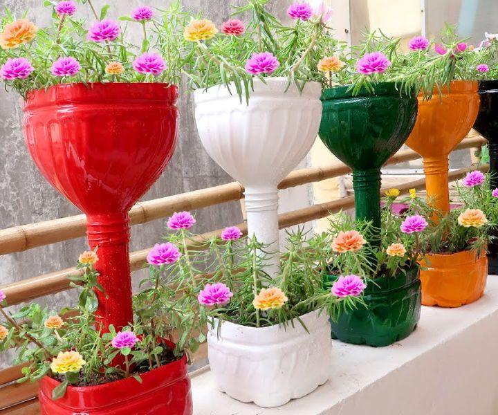 balcony garden containers