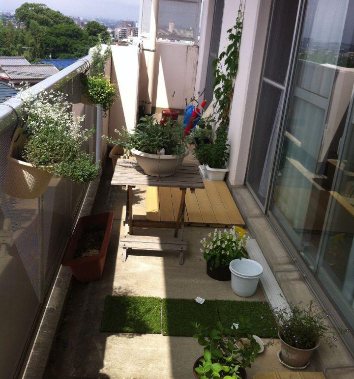 balcony japanese garden