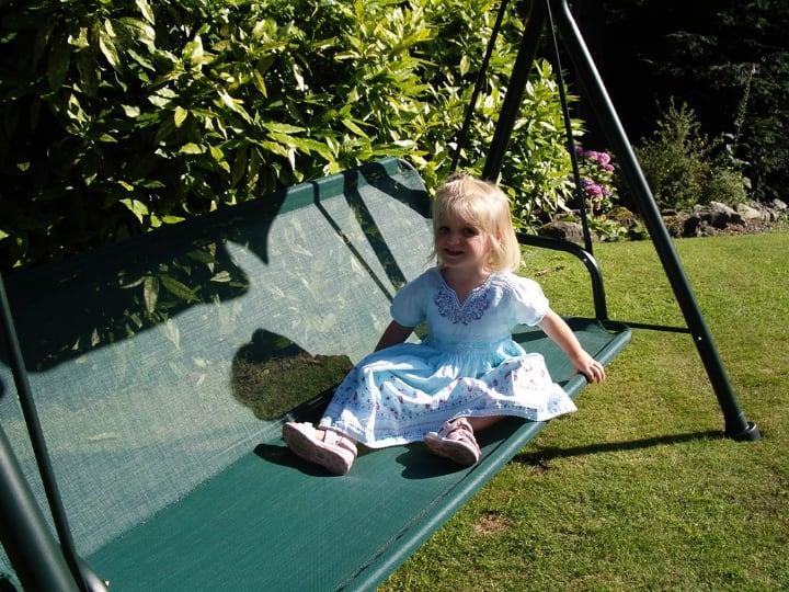 bigger swing is better for your garden