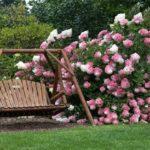 good quality wooden garden swing