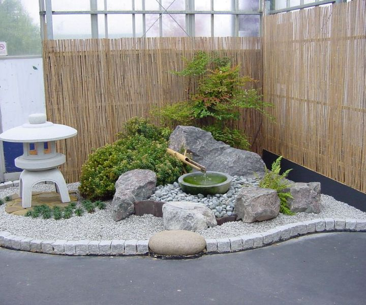 gravel for japanese garden