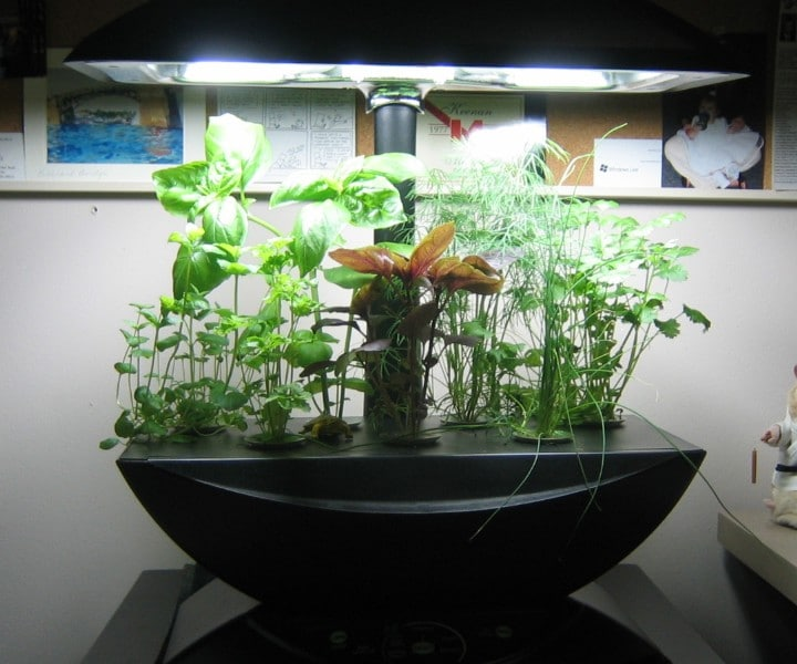 herb growing machine