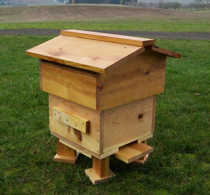 small ware diy bee hive