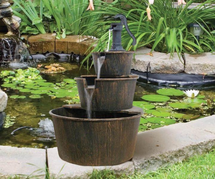 water can gardening