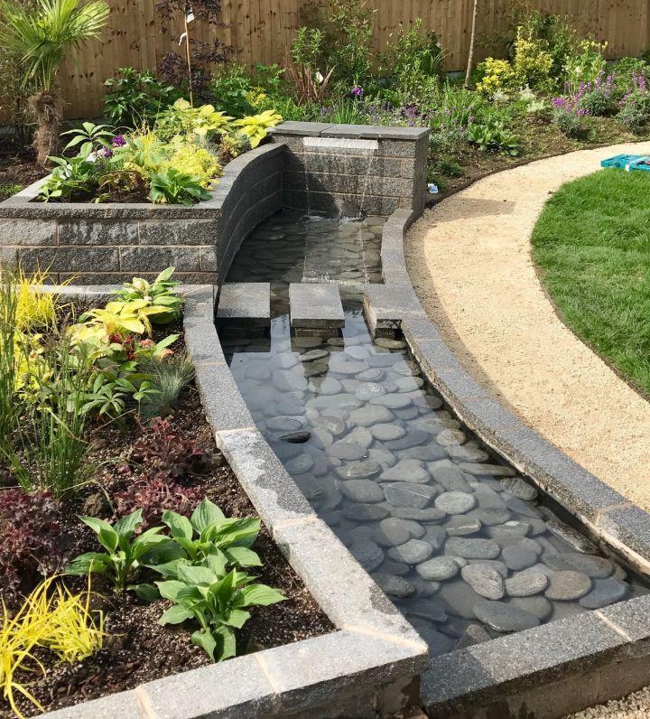 water trough gardening