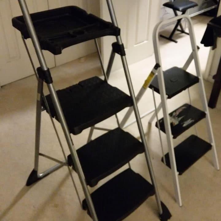 different step ladder styles