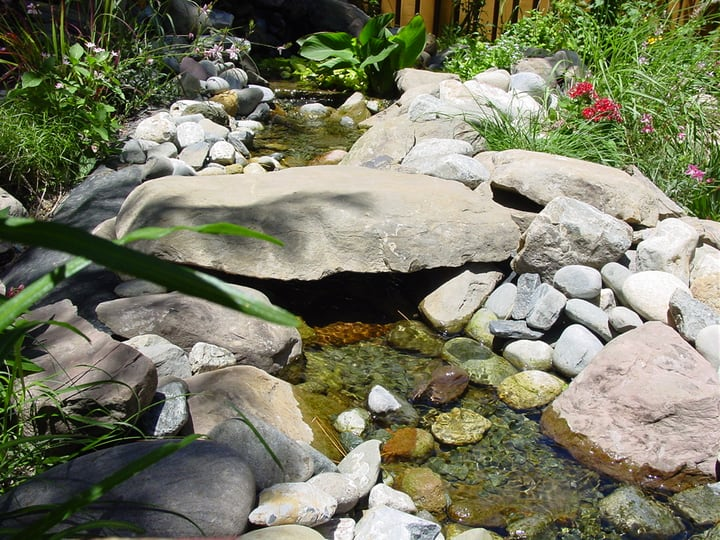 expanding the water feature