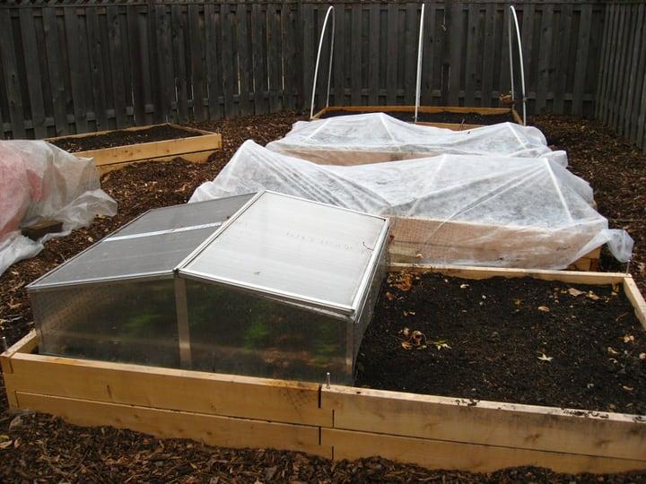 hot bed for winter garden
