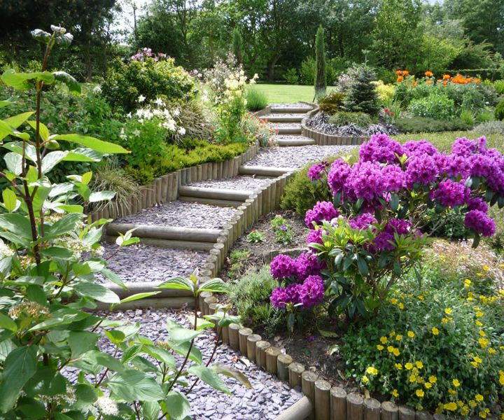 landscape gardening drawing
