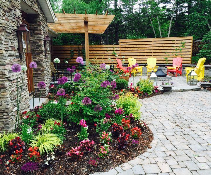 landscape gardening materials