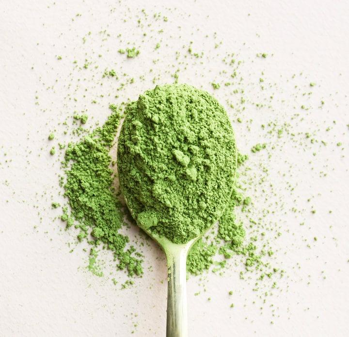 matcha green tea caffeine content