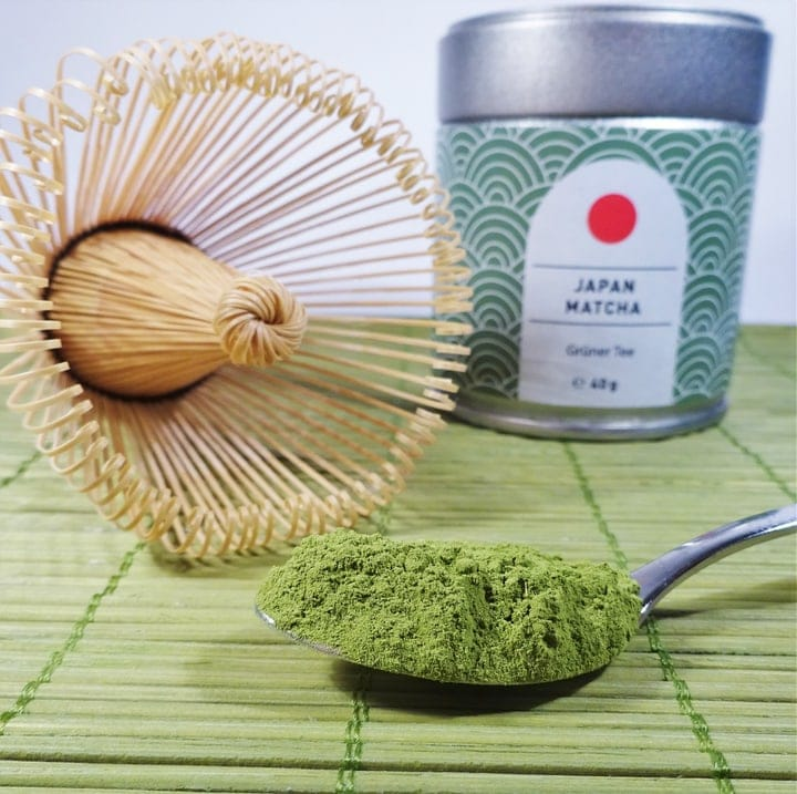 matcha green tea teaspoon