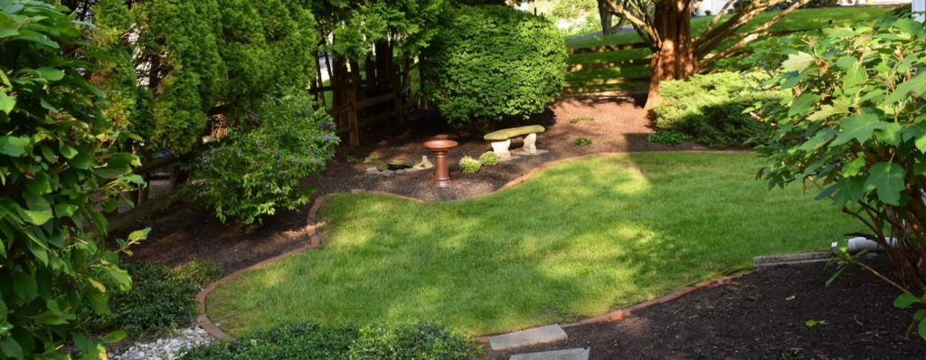 modern backyard landscape design