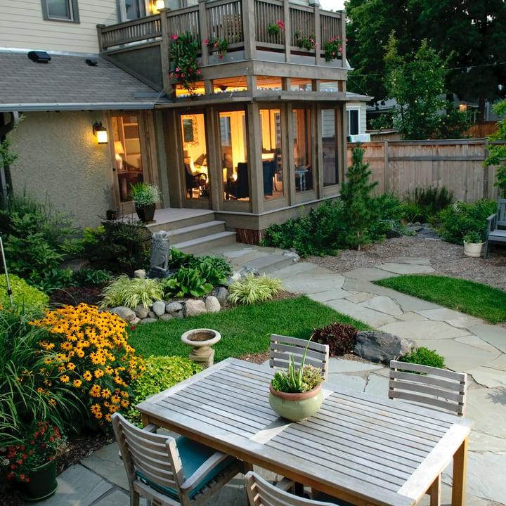 modern landscape garden design