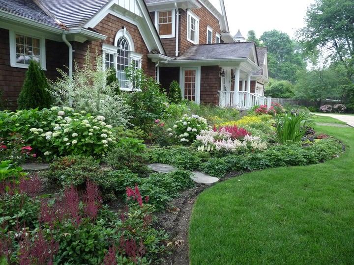 stunning landscape garden