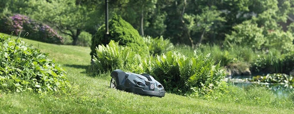 best electric lawnmower robot