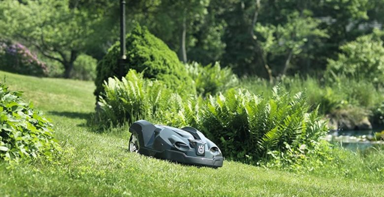 best electric lawnmower robot