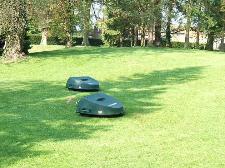 considering the lawn size