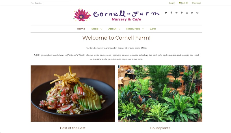 cornell farm nursery