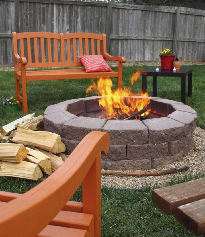fire pit ideas cheap