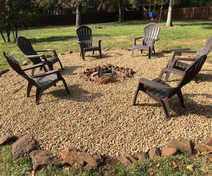 fire pit ideas easy