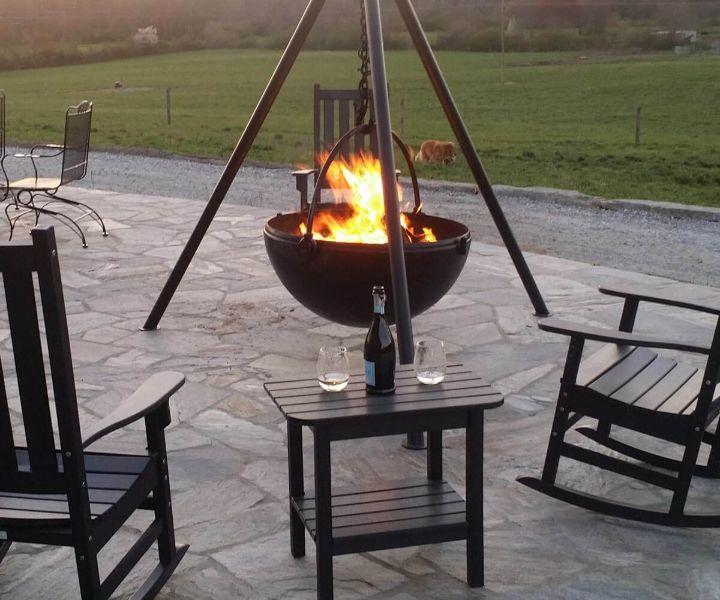 fire pit ideas patio