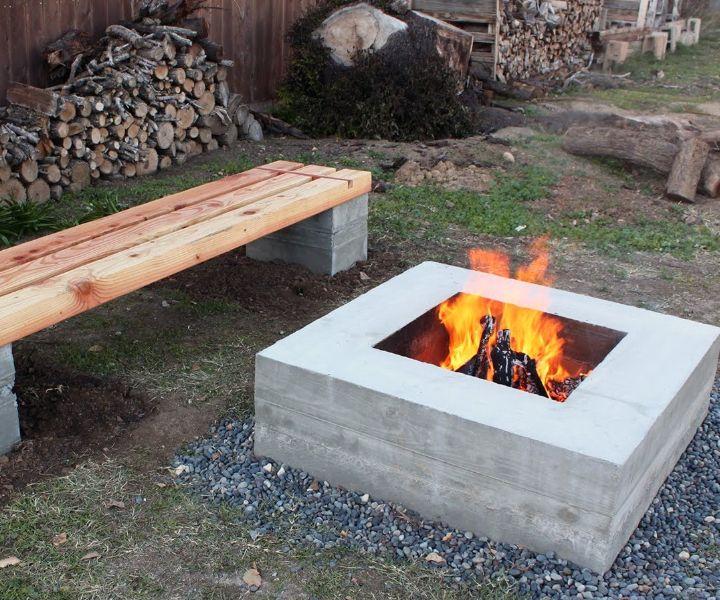 fire pit ideas pinterest