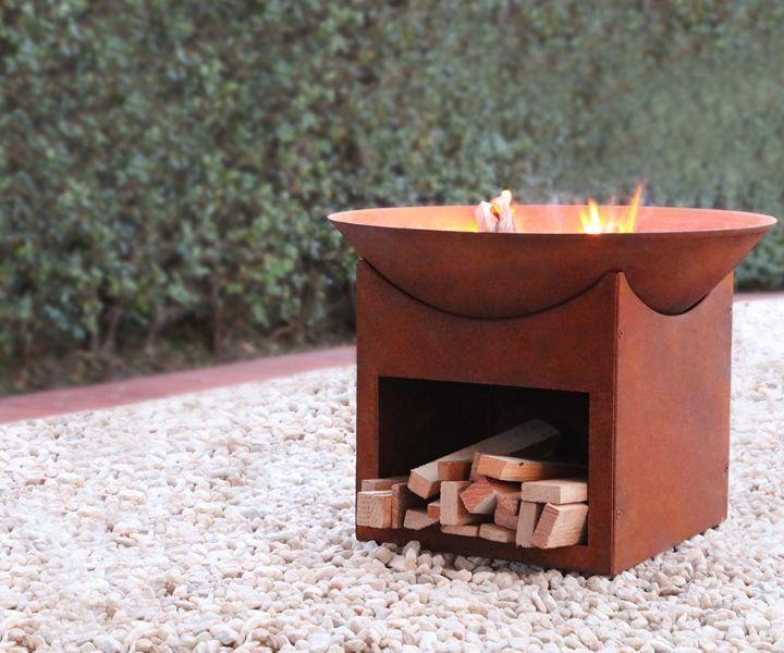 fire pit ideas propane