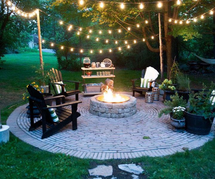 fire pit yard ideas