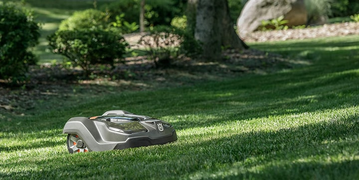 gps lawn mower