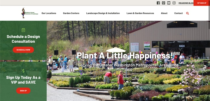 meadows farms nurseries and landscaping