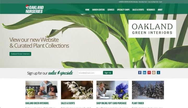 oakland nurseries