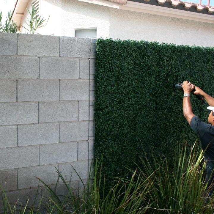 plant wall fake