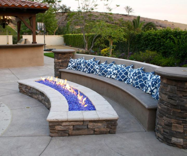 pool and fire pit ideas