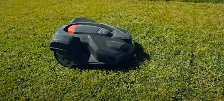 remote lawn mower