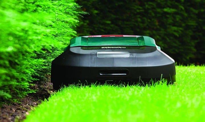 robotic lawnmower review image