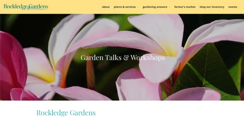 rockledge garden