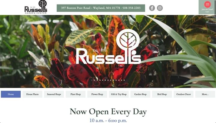 russells garden center