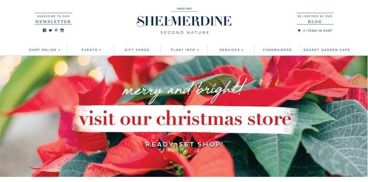 shelmerdine garden center